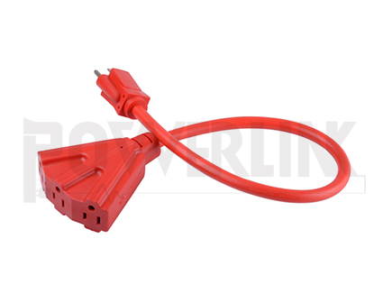 Outdoor Triple Tap Extension Cord