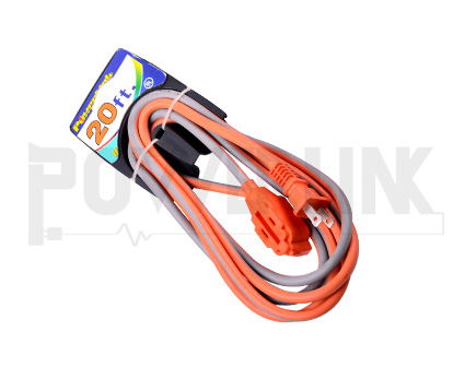 3-Outlet Indoor Extension cord