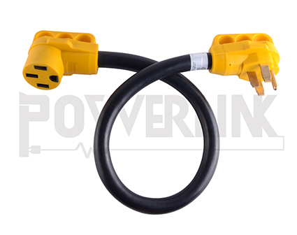 50a Rv Extension Cord With Grip Handle 6 3 8 1 Stw China