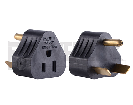 RV Power Adapter 30amp Male to 15amp Female