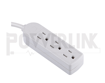 3 Outlets Power strip
