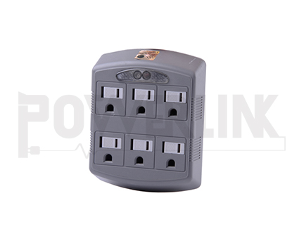 6 Outlet Grounding Adapter