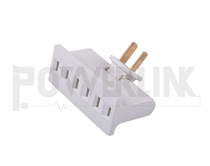 Grounding Triple Outlet Adapter