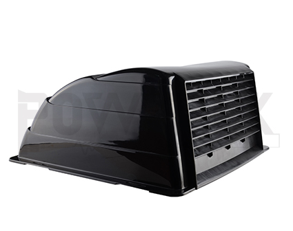 RV UNIVERSAL ROOF VENT COVER-BLACK