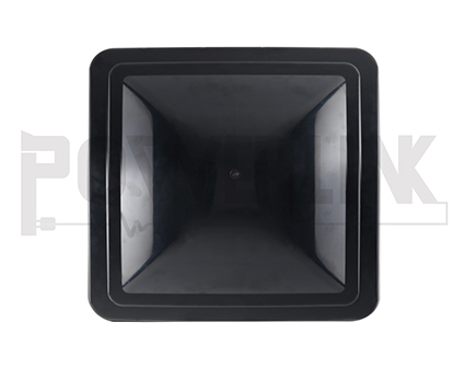 RV VENT LID, BLACK
