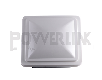 RV VENT LID, WHITE