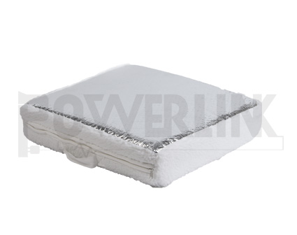 RV SUNSHIELD VENT INSULATOR WITH REFLECTIVE SURFACE