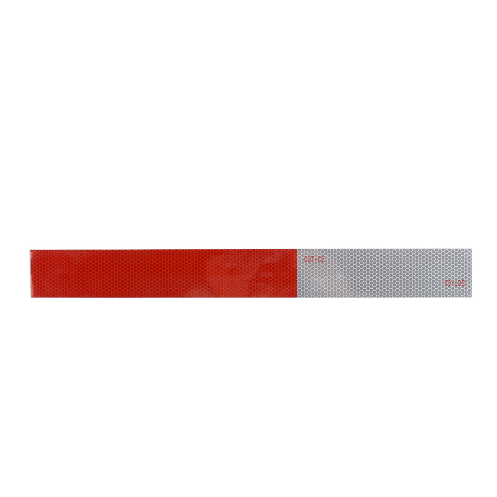 TRAILER DOT-C2 REEFLECTIVE TAPE IN RED AND SILVER