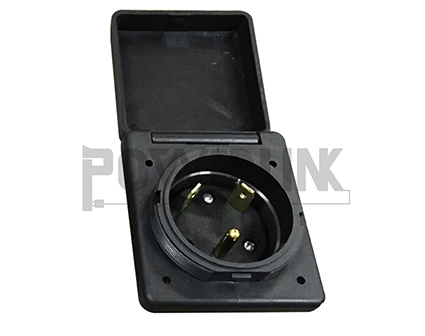 RV 30A Straight Power Inlet