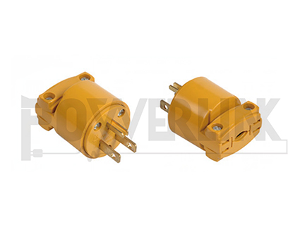 RV 15A Replacement Male Plug