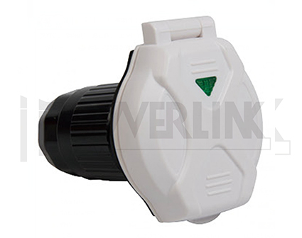 RV 50A Power Inlet with Indicating Light