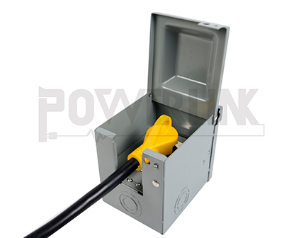 RV Power Outlet Panel 30A