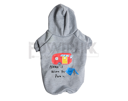 Pet Outfit Apparel Dog Hoodies Sweater Clothing